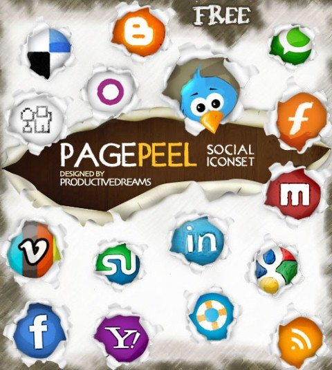 icon pack157 55 Free Social Networking PNG/ICO Icon Packs