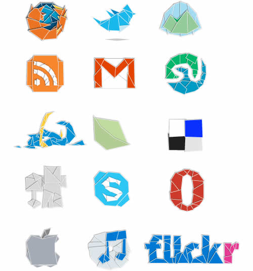 icon packs 10 15 55 Free Social Networking PNG/ICO Icon Packs