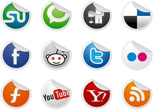 black and white facebook icon. Social Icons Made of Wood