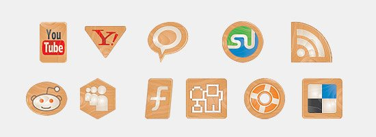 icon packs20 55 Free Social Networking PNG/ICO Icon Packs
