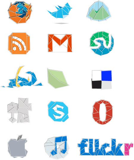 icon packs21 55 Free Social Networking PNG/ICO Icon Packs