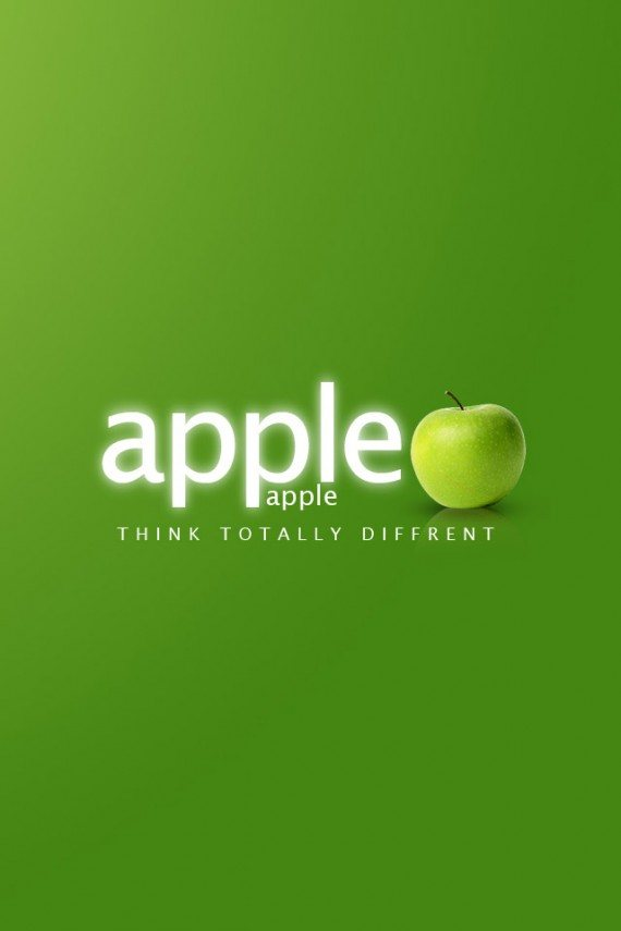 Real Apple Think Different