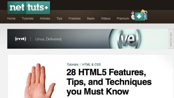28 Excellent HTML 5 & CSS3 Tutorials and Techniques by designsmagcom