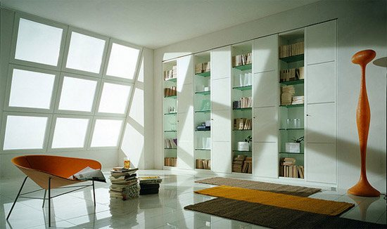 unusual and desirable bookshelves designs M40 wardrobe and b 46 Creative and Stylish Bookshelf Designs
