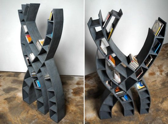 unusual and desirable bookshelves designs bibliotheque tree 46 Creative and Stylish Bookshelf Designs