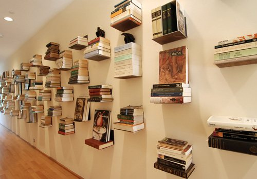 unusual and desirable bookshelves designs book on the wall 46 Creative and Stylish Bookshelf Designs