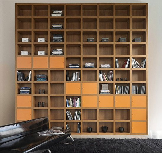unusual and desirable bookshelves designs krea bookcase 46 Creative and Stylish Bookshelf Designs