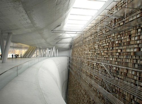 unusual and desirable bookshelves designs libraryland 46 Creative and Stylish Bookshelf Designs
