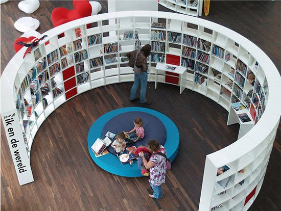unusual and desirable bookshelves designs oba 46 Creative and Stylish Bookshelf Designs