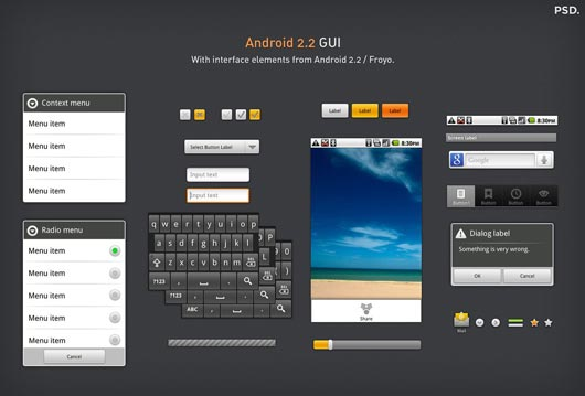 Amazing UI Mobile Kit, Resources and PSD - Designs Mag
