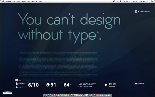 41 MacCustomization designsmag Mac OS Customization Ideas