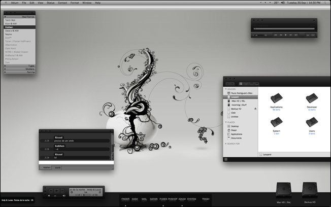 7 MacCustomization designsmag Mac OS Customization Ideas
