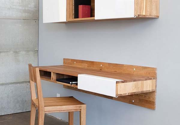 LAX wall mount desk by MASHstudios 35 Super Modern Office Desk Designs - Designs Mag