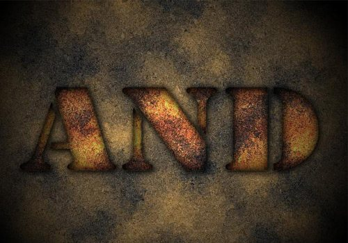 Making a Rusty Text 30 Interesting Photoshop Text Effect Tutorials - Designs Mag