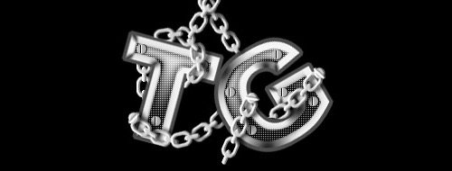 chained text 30 Interesting Photoshop Text Effect Tutorials - Designs Mag