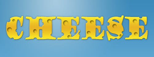 cheese 30 Interesting Photoshop Text Effect Tutorials - Designs Mag