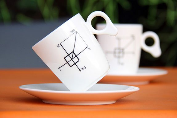 creative mugs zero gravity 1 50 Stylish Tea and Coffee Mugs Creative Designs