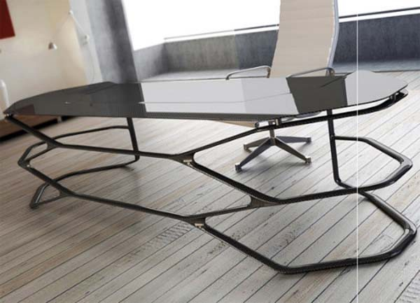 hexadesk1 35 Super Modern Office Desk Designs - Designs Mag