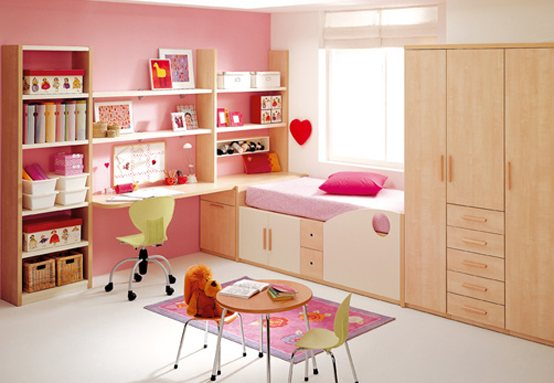 kids room decor pink 1 40 Fantasy Kids Room Decorating Ideas
