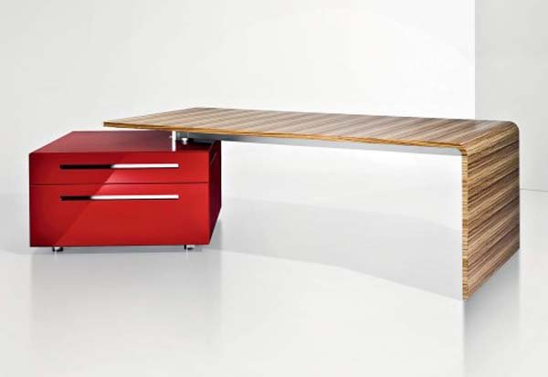 lane desk 35 Super Modern Office Desk Designs - Designs Mag