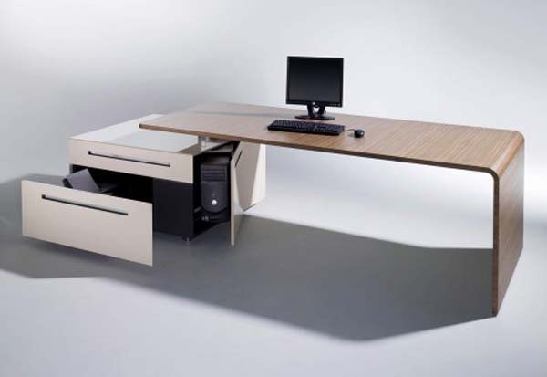 lane desk 2 35 Super Modern Office Desk Designs - Designs Mag