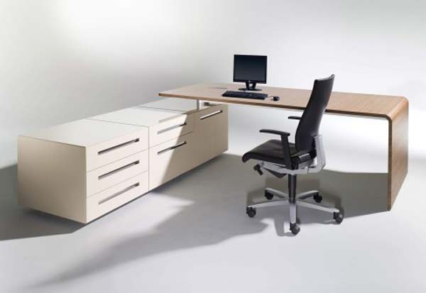 lane desk 3 35 Super Modern Office Desk Designs - Designs Mag