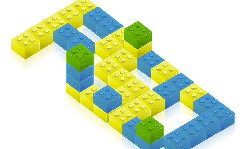 lego typo 30 Interesting Photoshop Text Effect Tutorials - Designs Mag