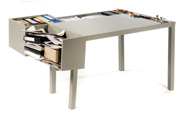 messydesk2 35 Super Modern Office Desk Designs - Designs Mag