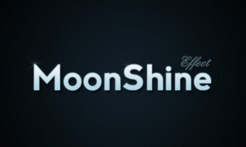 moonshine 30 Interesting Photoshop Text Effect Tutorials - Designs Mag