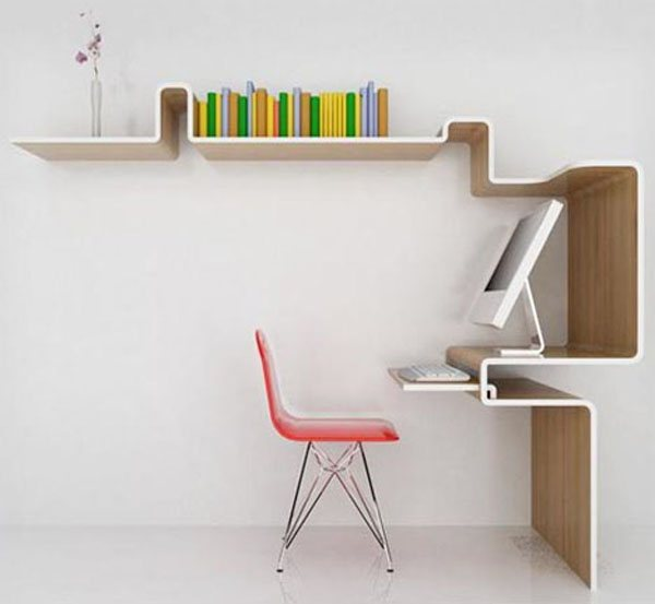 space saving furniture design 35 Super Modern Office Desk Designs - Designs Mag