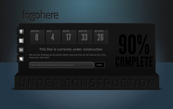 85 Well Designed Pages Under Construction - Designs Mag