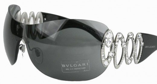 Bvlgari Sunglasses for College Girls1 520x279 45 Graceful Sunglasses Designs