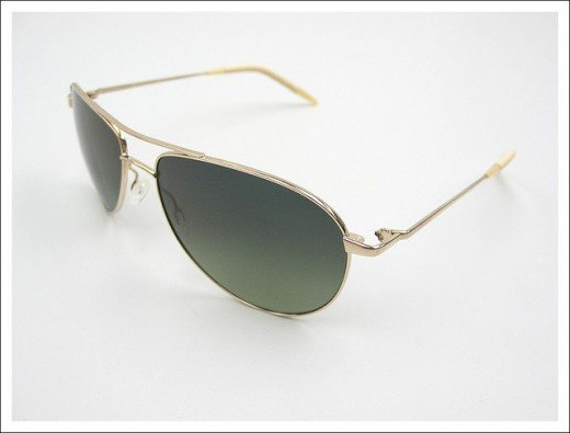 Oliver Peoples Benedict Aviator Sunglasses 520x395 45 Graceful Sunglasses Designs
