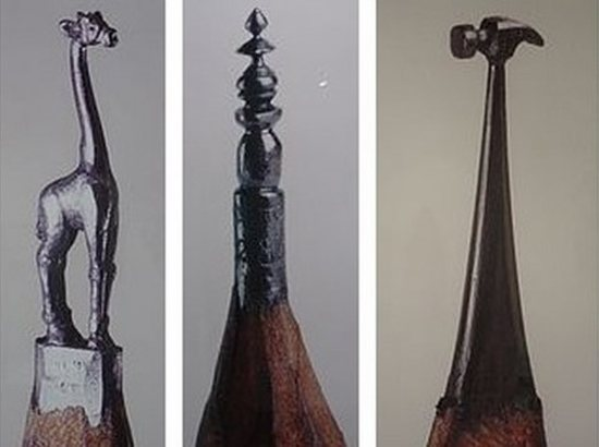 Incredible Pencil Carvings Art - Designs Mag
