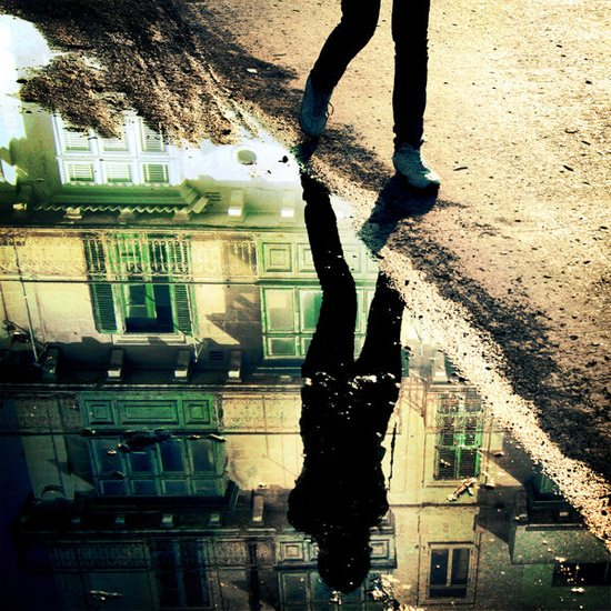 Chasing pavements by iNeedChemicalX 110 Stunning Examples of Conceptual Photography