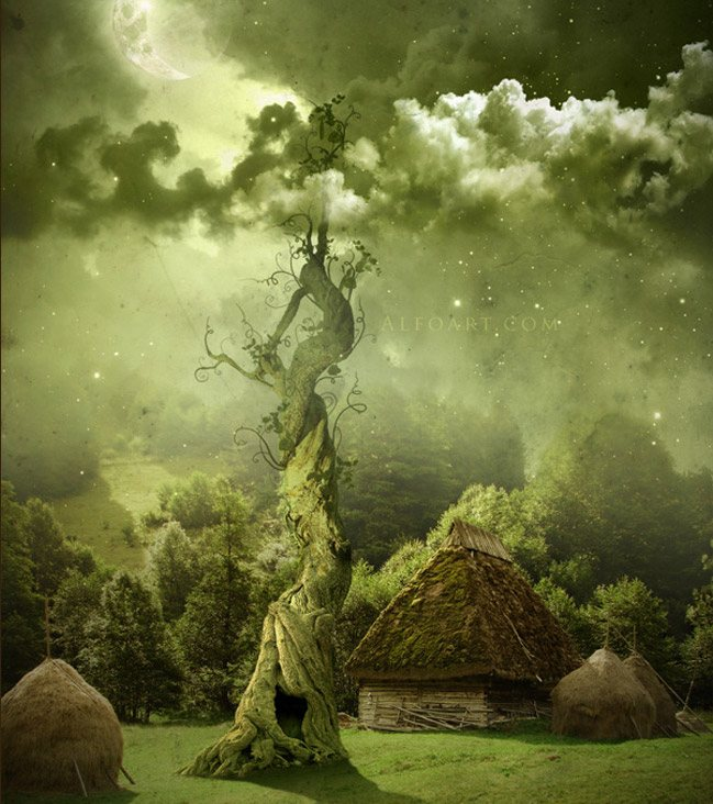 Fairy night 42 Terrific Photo Manipulation Tutorials