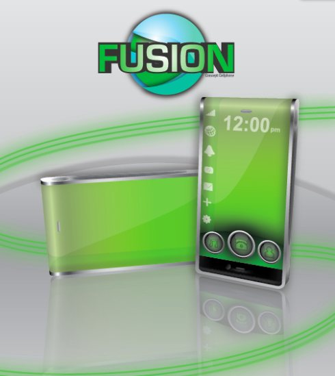 LG Fusion concept phone 1 45 Superb Concept Cell Phone Designs