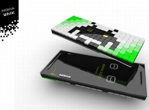 Nokia Unik concept phone 1 45 Superb Concept Cell Phone Designs