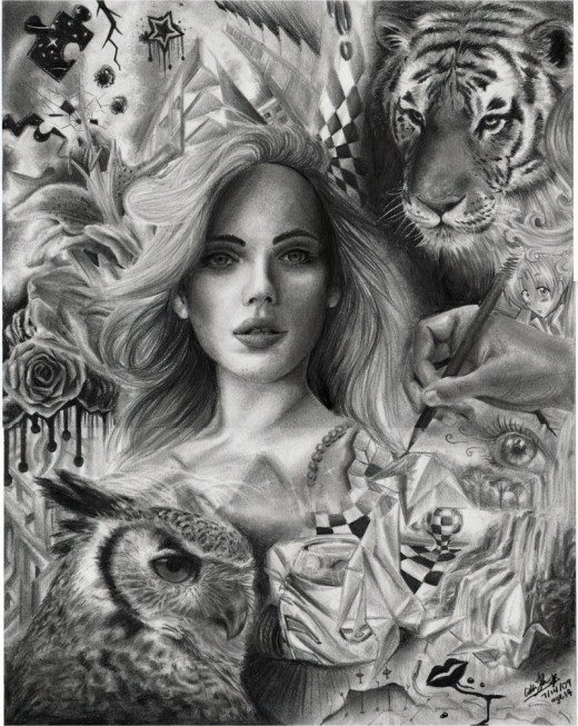 55 Absolutely Amazing Pencil Drawings - Designs Mag