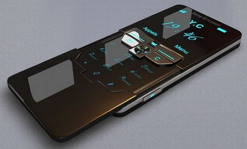 Sony Ericsson iPhone4 design 3 45 Superb Concept Cell Phone Designs