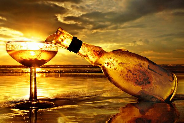 Sparkling Wine by ahermin 110 Stunning Examples of Conceptual Photography