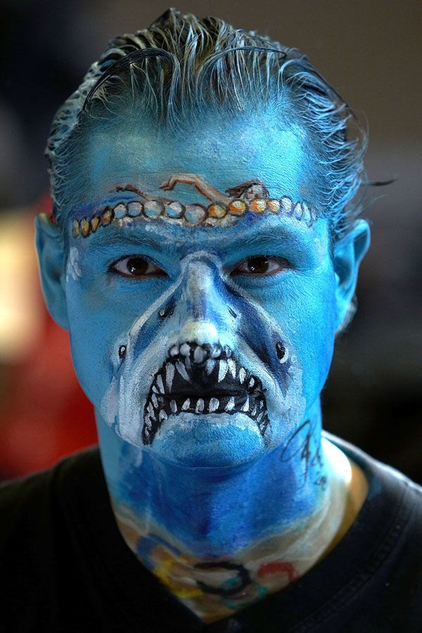 60 Extraordinary Face Painting Ideas - Best Halloween Faces