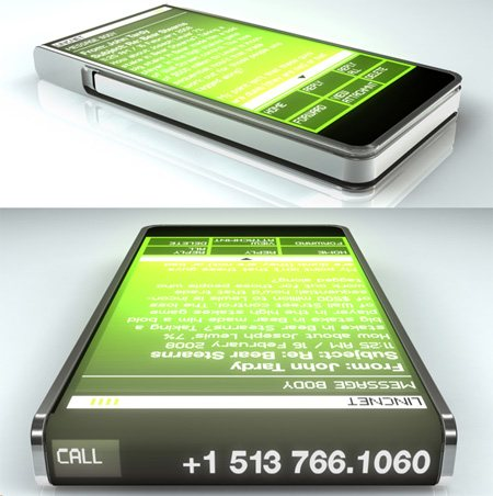 ccellp11 45 Superb Concept Cell Phone Designs