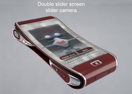 ccellp12 45 Superb Concept Cell Phone Designs