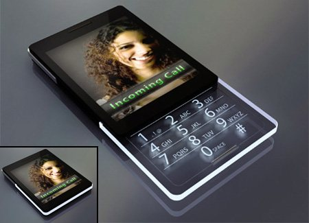 cellphone06 45 Superb Concept Cell Phone Designs
