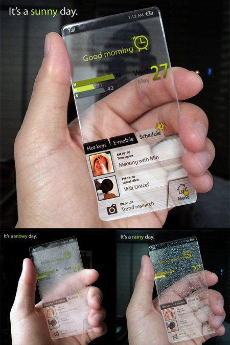 cellphone11 45 Superb Concept Cell Phone Designs