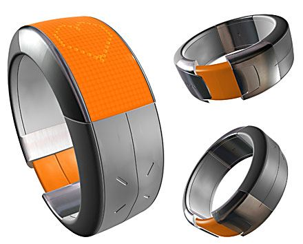 nokia strapup bracelet phone 45 Superb Concept Cell Phone Designs