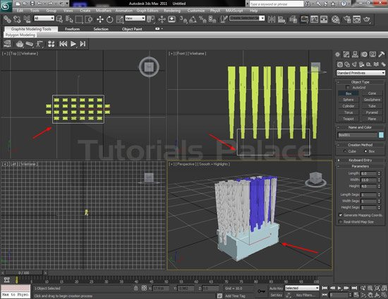 toothbrush 3d 11 Making of Toothbrush in 3D Max