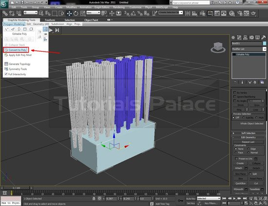 toothbrush 3d 12 Making of Toothbrush in 3D Max