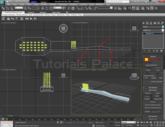 toothbrush 3d 17 Making of Toothbrush in 3D Max
